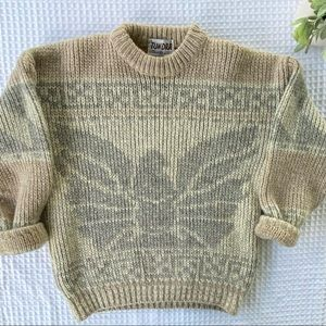 Vintage 100% Wool Made in Canada Tundra Sweater